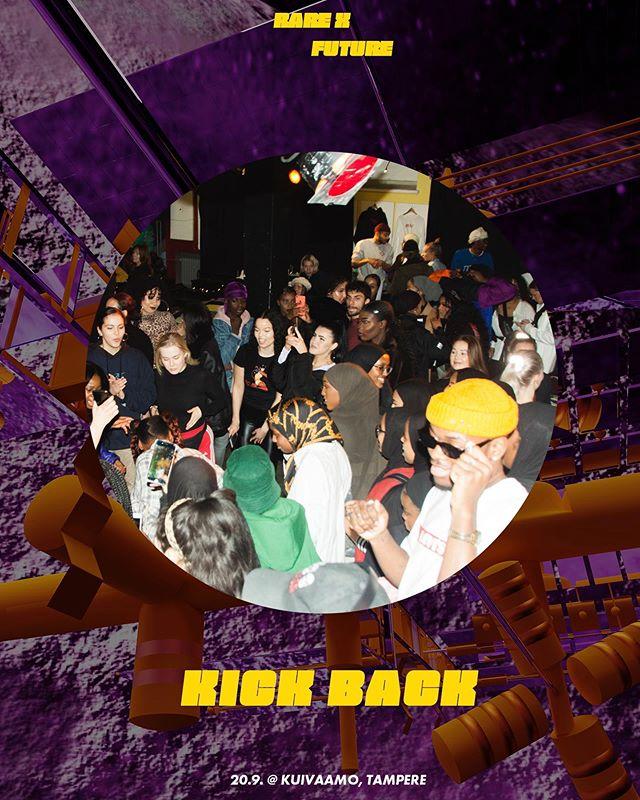 ⚡️ 20.9. RARE X FUTURE @ Kuivaamo ⚡️ Näe. Kuule. Tunne. Opi.  Kuinka sukupolvet Y ja Z rakentavat tulevaisuutta?  RARE X FUTURE on seminaari, keskustelutilaisuus ja klubi. Se on tilallista journalismia. Se on puheenvuoroja moninaisuudesta, identiteetistä ja ympäristöstä. Se on futuristinen karnevaali. Se on kulttuuria nuorilta nuorille.  Tapahtuma järjestetään Tampereella kulttuuritila Kuivaamossa perjantaina 20.9. klo 18-02. RARE X FUTURE on ikärajaton ja sinne on vapaa pääsy.  Klo 18 // Ovet aukeaa Klo 20 // RARE, Tomi Passetto Vuorio | Future Studies, Suvi Hiltunen | Nuorten Agenda2030 Klo 20:45 // Tauko Klo 21:15 // Kick Back, Drag-paneelikeskustelu: Lady Clapback, Viha Piirakka, Bambi Bizarre, Javiera Marchant Aedo 10 pm // RARE BALL: DJ Coco, Joonas Ninja, Ofimja Mizrahi, Mr Sparkles, Dance Off Tampere | ZZ Crew  Juhlinta jatkuu klo 02 saakka.  Tilaa ympäröi mediataideinstallaatio, jonka toteuttaa mediataiteilija Wilma Kurumaa.  RARE X FUTURE tuo journalismin kokemukselliseen ja performatiiviseen muotoon. Haluamme rohkaista kokijaa pohtimaan tulevaisuuttamme ja inspiroitumaan siitä.  Pyrimme vapaaehtoisella pääsymaksulla tuottamaan saavutettavaa kulttuuria ja sisältöä nuorille. Tilassa noudatetaan turvallisemman tilan sääntöjä.  Tapahtuman tuottaa RARE. Tapahtuman tukijoina ovat Hiedanranta, Helsingin Sanomain Säätiö, AVEK ja Kuivaamo.