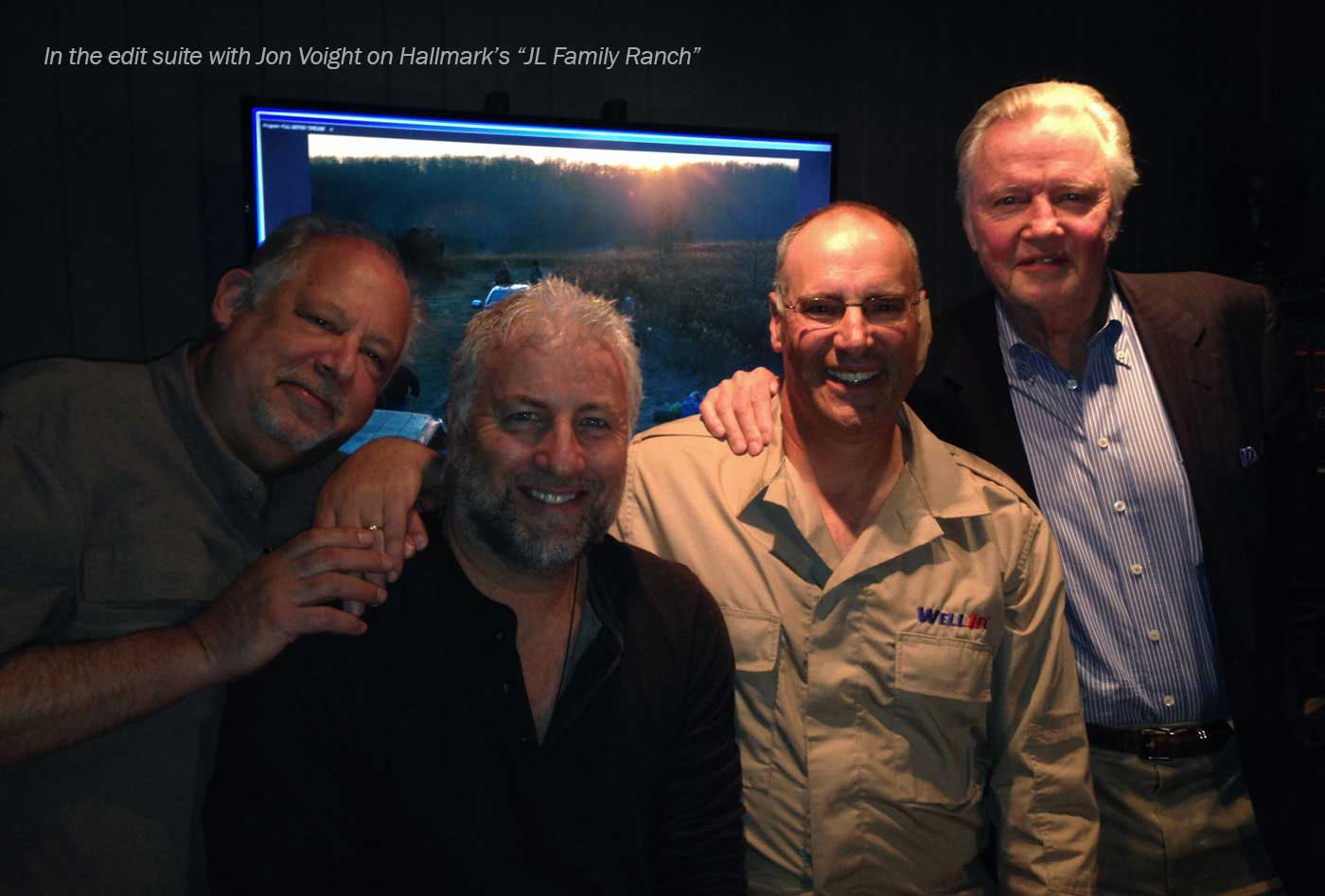 Dave Eichhorn_editing suite with Jon Voight.jpg