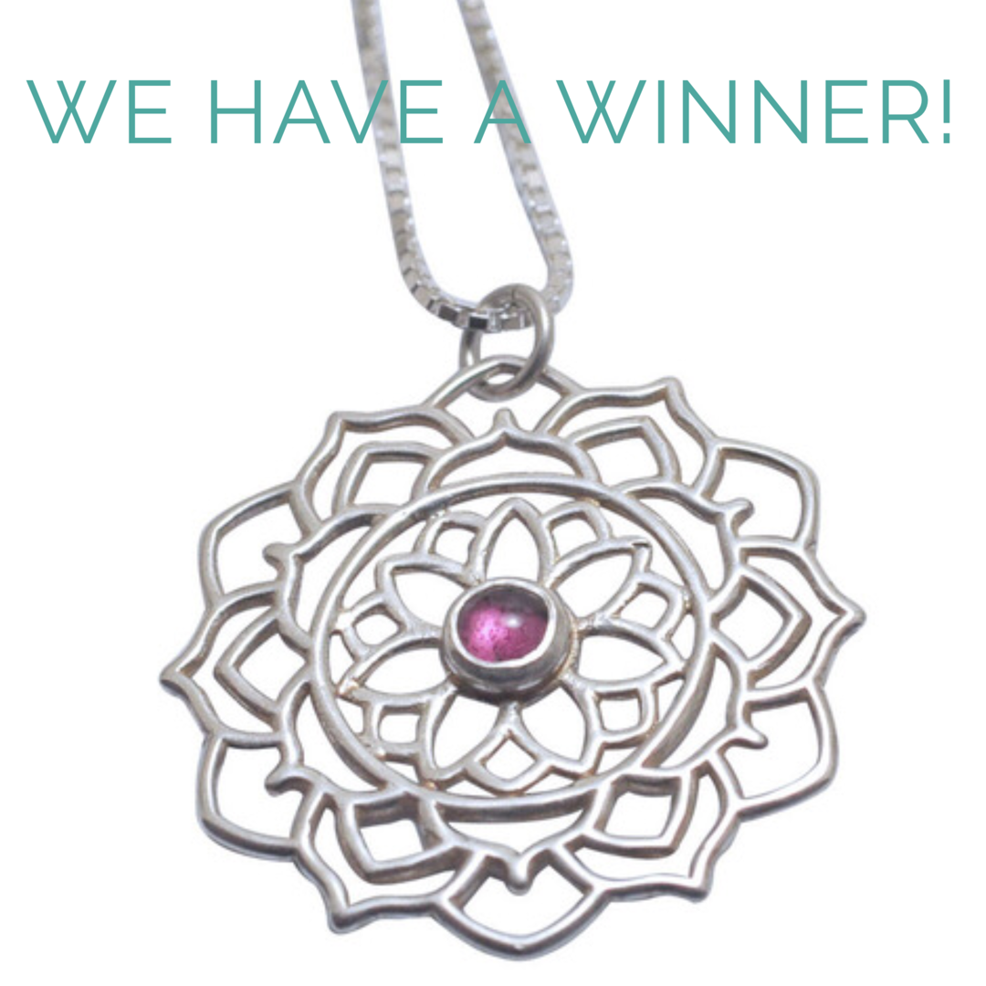 Winner of giveaway mandala necklace.PNG