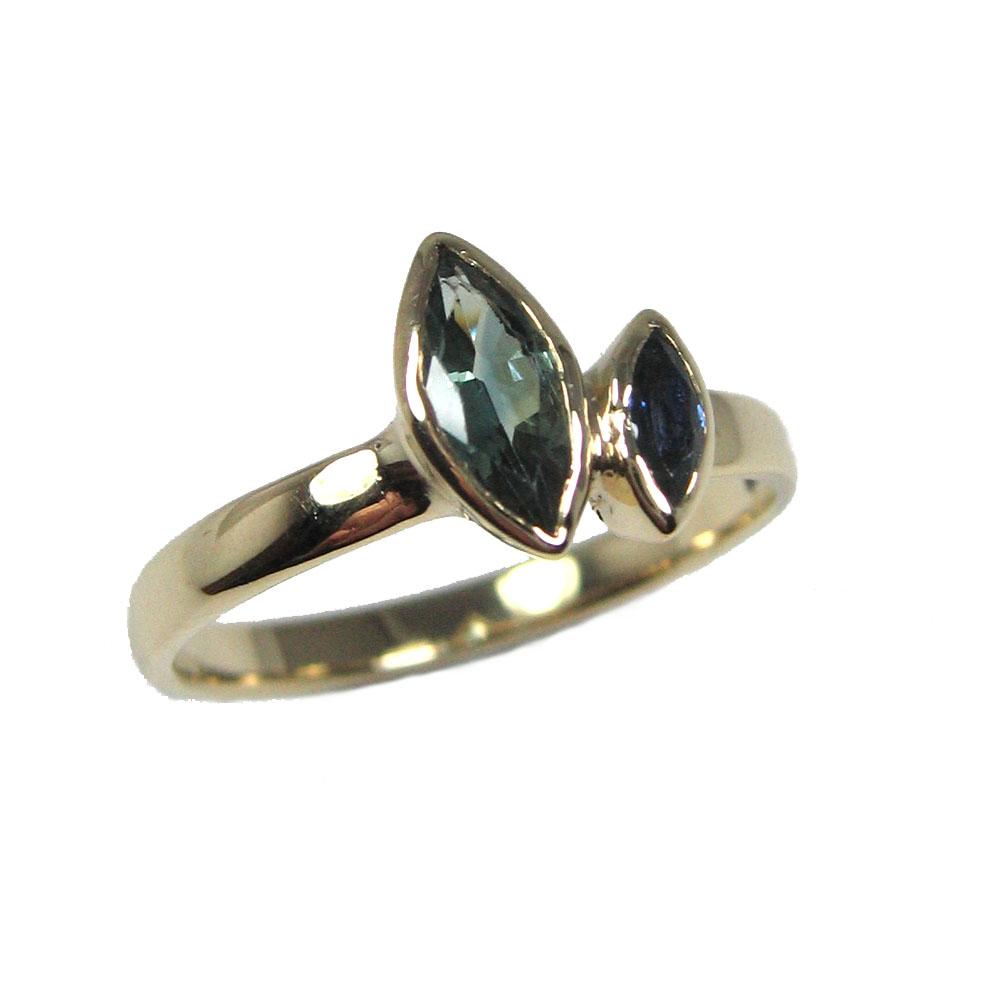 green blue australian marquise gold ring.jpg
