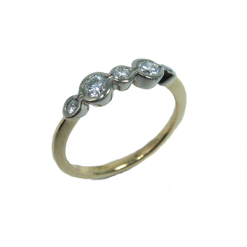 five diamond white and yellow gold ring.jpg