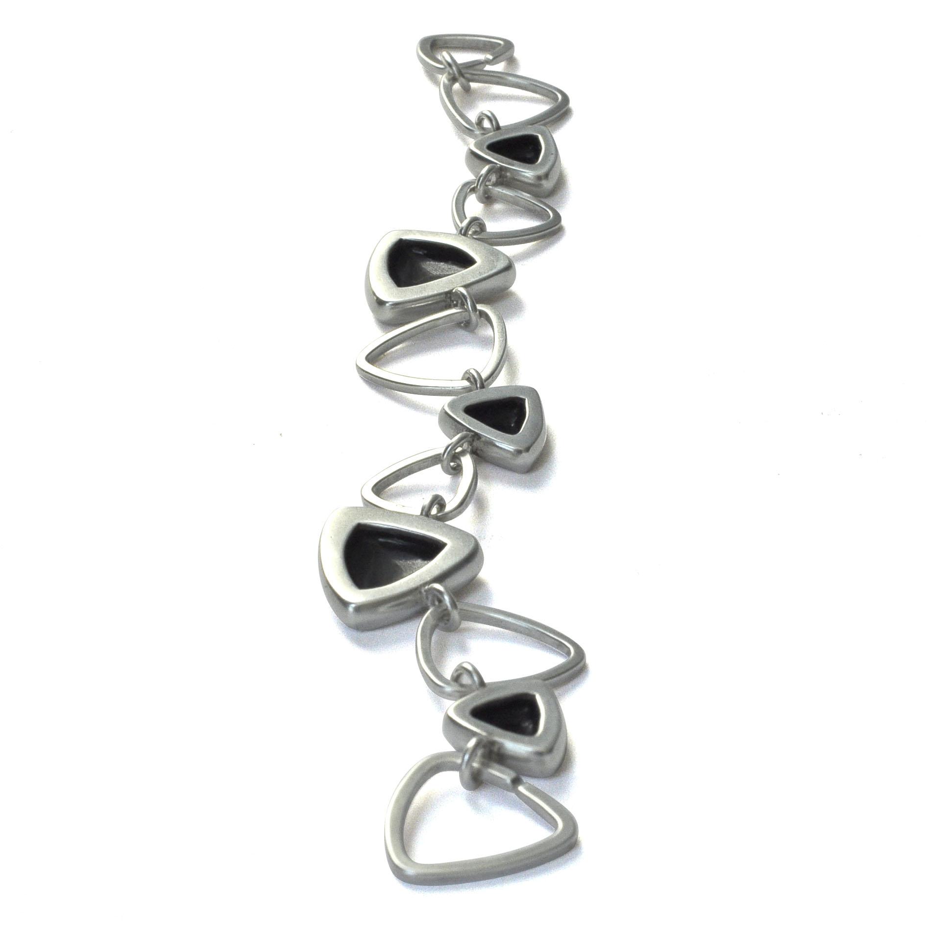 silver triangle black enamel bracelet.jpg