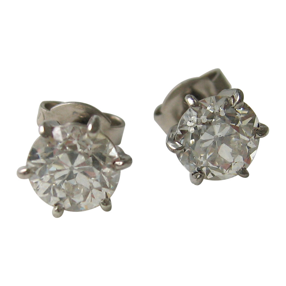 old cut diamond claw studs.jpg