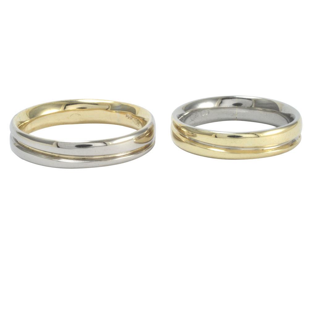 reversed matching gold wedding rings.jpg