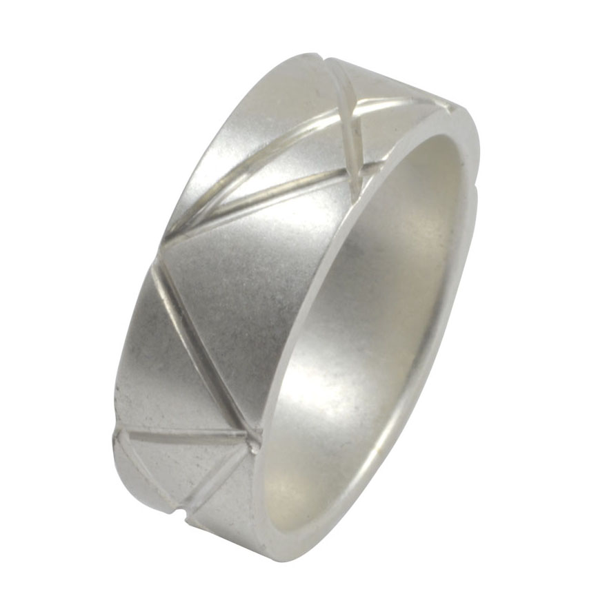 geometric intersecting lines silver ring.jpg