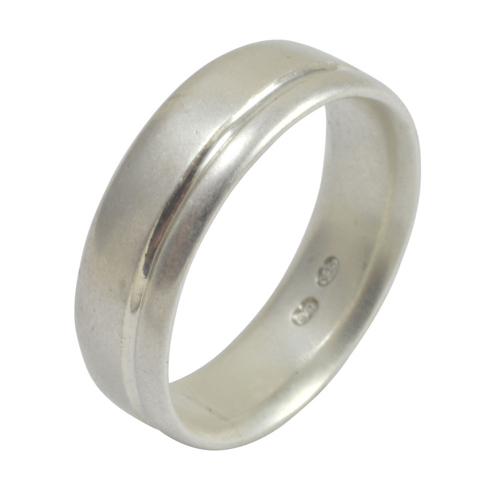 straight offset groove silver band.jpg