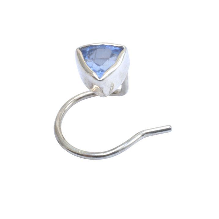 blue trilliant sapphire silver nose stud.jpg
