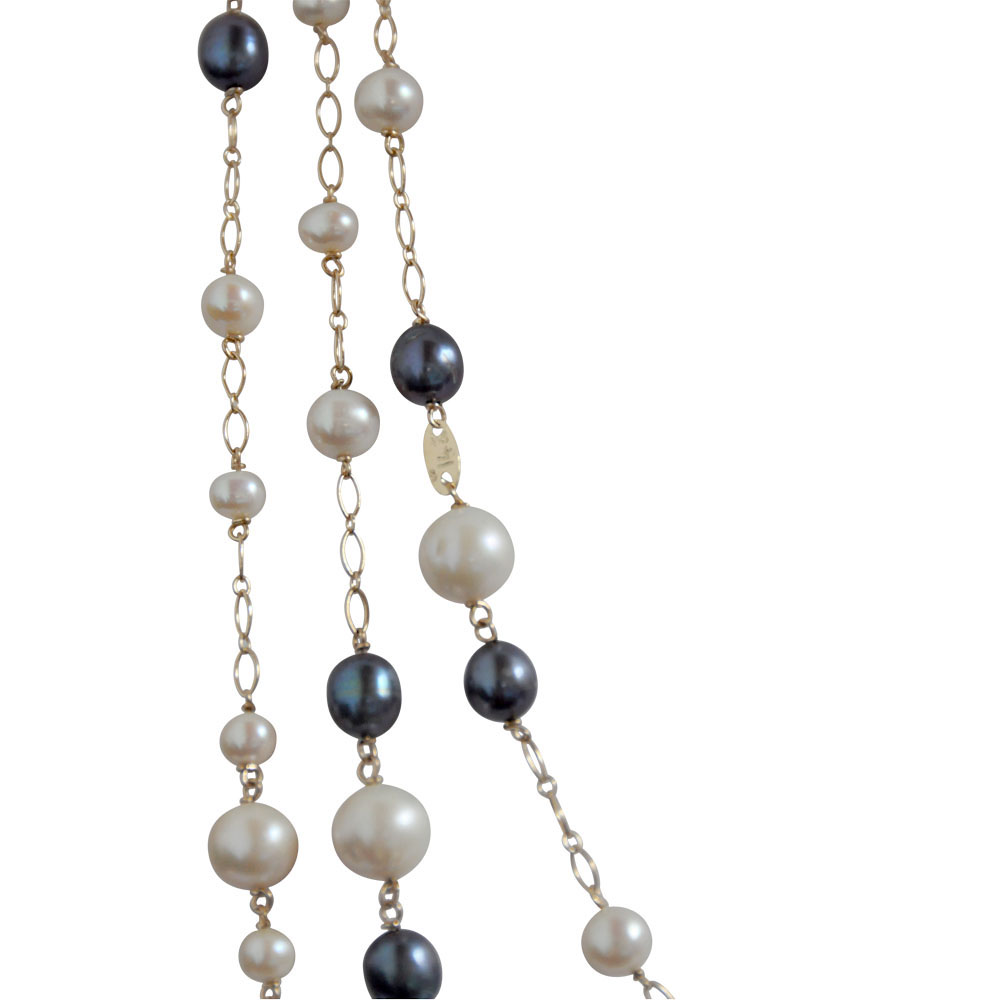 white and black pearl 14ct yellow gold necklace long.jpg