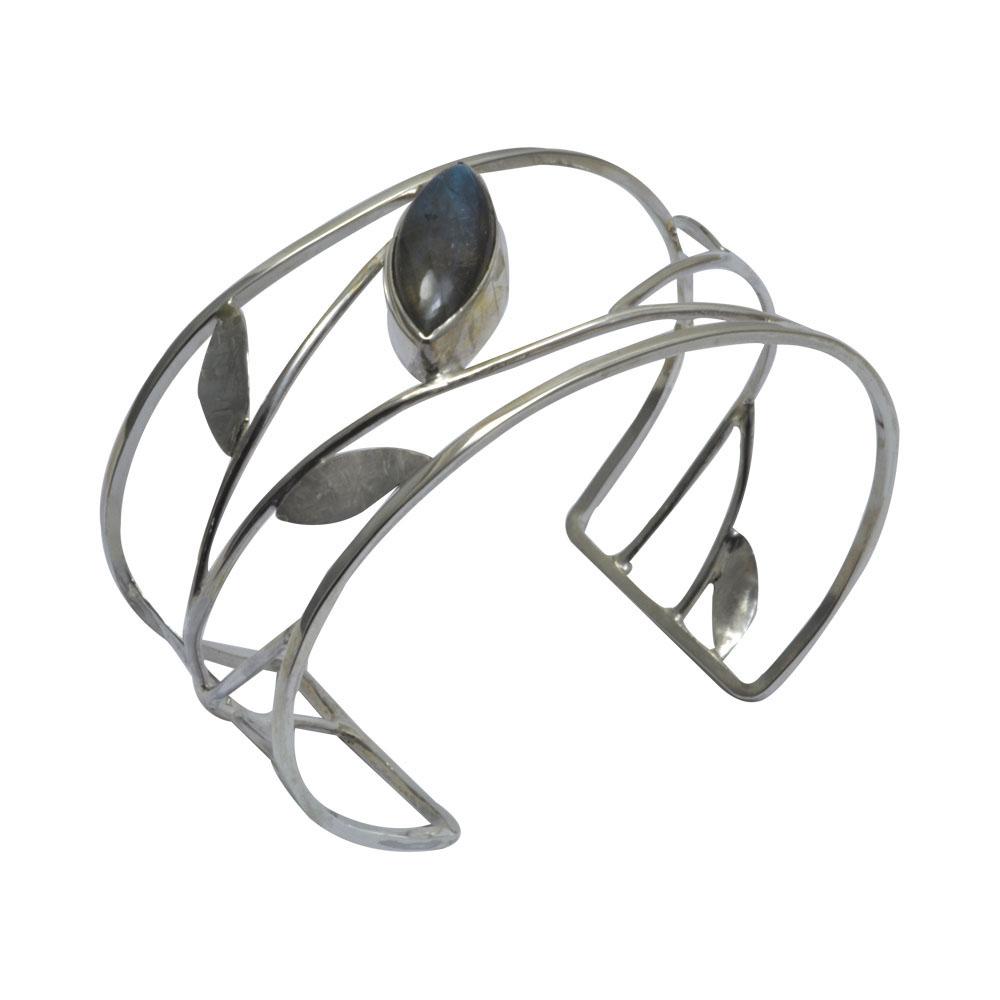 marquise labradorite silver leaf cuff.jpg