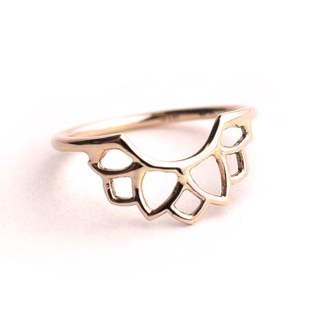 9ct rose gold lotus fitted wedding ring.JPEG
