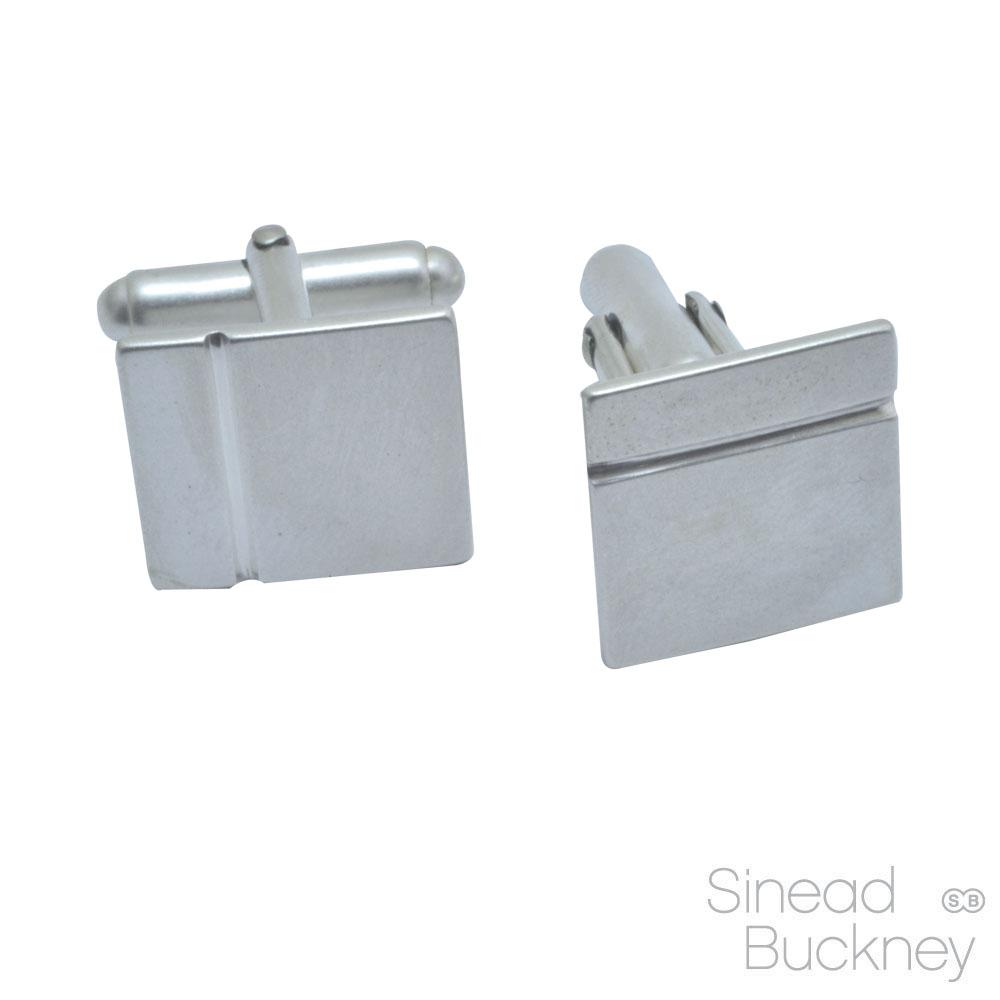 silver groove cufflinks matt.jpg