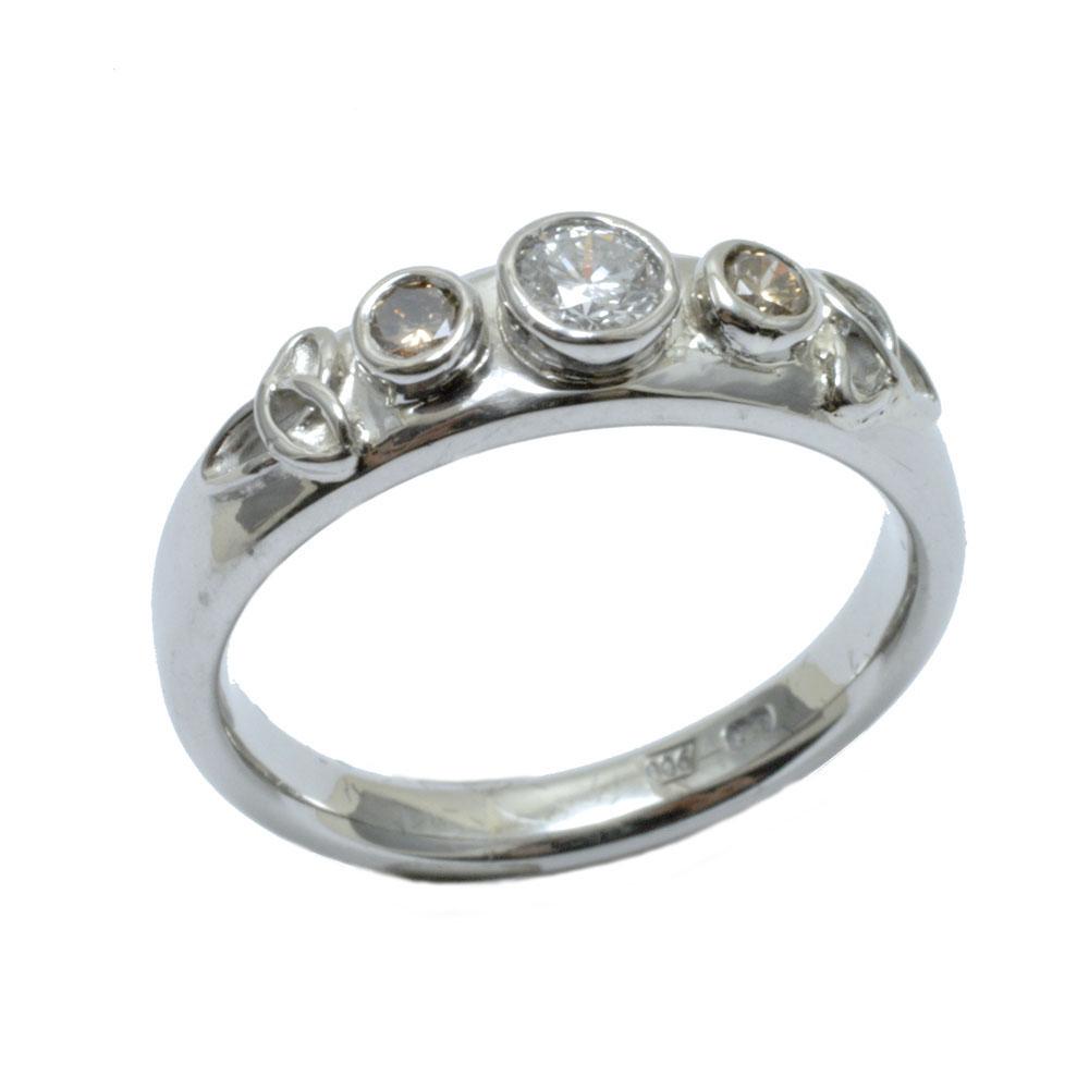 trinity knot cognac diamond engagement ring palladium.jpg