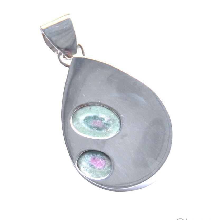 reverse detail zoisite silver pendant.jpg