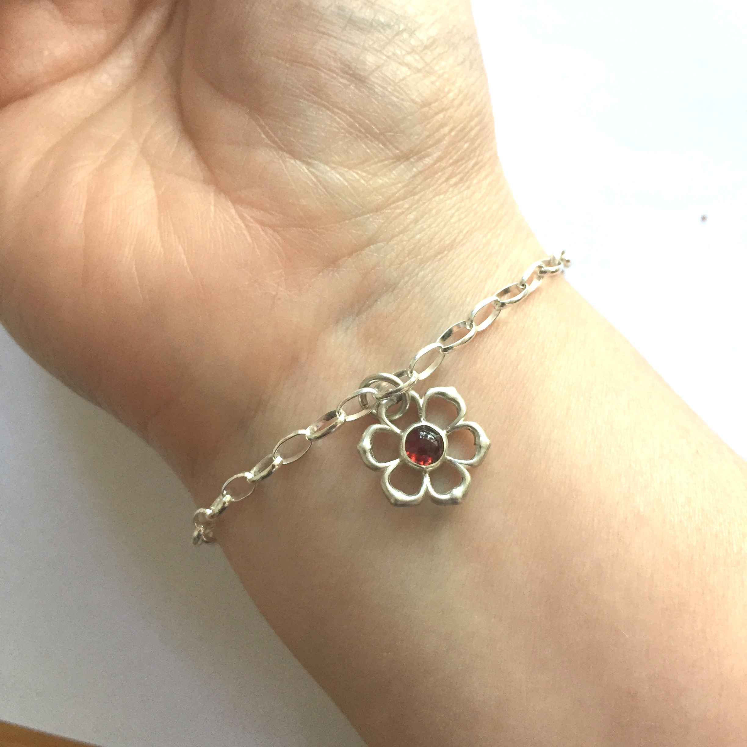 Jayne Turnbull - I just wanted to let you know how much I love my bracelet, it's absolutely perfect! I'm so so thrilled!