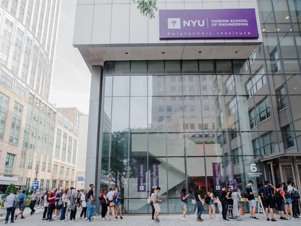 Building 2 - MakerSpace (NYU Tandon School of Engineering)6 MetroTech Center, Brooklyn, NY 11201• Demo Expo: 15 Demos• Workshops, including a tour of the MakerSpace