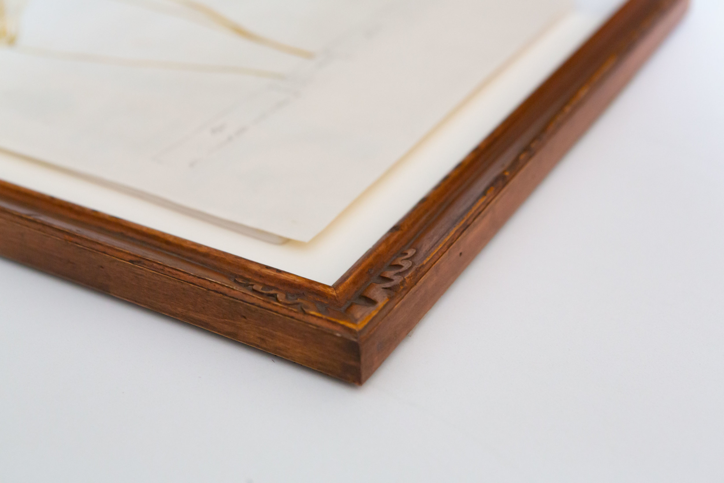 nothing but the best - We use only the highest quality material and archival methods for mounting and fitting. We offer a variety of closed corner frames and a selection of hardwood mouldings made in the USA.