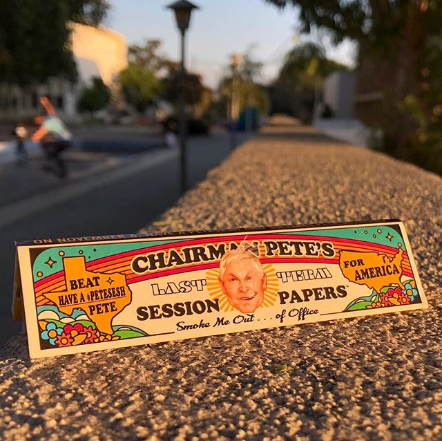 """It turns out there's more than one Sessions who wants to take away your grandma's weed. But here's the good news: the more dangerous Sessions is up for re-election on November 6. We created this king size pack of #PeteSesh papers for the occasion.  Pete Sessions was this year declared """"Washington's most powerful anti-pot official"""" by @politicomag and """"the reason congress can't vote on marijuana anymore"""" by Marijuana Moment. Here's Politico again with why:  """"What Pete Sessions has..that Jeff Sessions doesn't have is the power to change laws. Very quietly, but with implacable efficiency, Pete Sessions has used his position as the chair of the House Rules Committee to stymie or roll back amendments that protected legal marijuana in the 29 states that have approved it (30 states if you count Louisiana).""""  So, yeah. Go on and read about it for yourself. You could accuse us of trolling the wrong Sessions. We didn't mean to mislead you guys.  But here's our plan to make it right: Over the next 10 days, our mission is to rally the canna-friendly vote against Chairman Pete and raise awareness of the national stakes in this local race. Can you help?  TAKE ACTION: Visit petesesh.com for links to the stories quoted above, contribute to Pete's opponent @ColinAllred, and even order some actual #PeteSesh trolling papers while they last.  Send a pack to a canna-friendly voter in Dallas. Make sure they get to the polls and know the facts about Pete. In a tight district race, they might be the deciding vote to clear one of the last barriers to federal legalization.   Tag a voter in #texas  #vote #election2018 #election #midterms #election #cannabis #jeffsesh #dallas #texas #protest #statesrights #nofilter"""