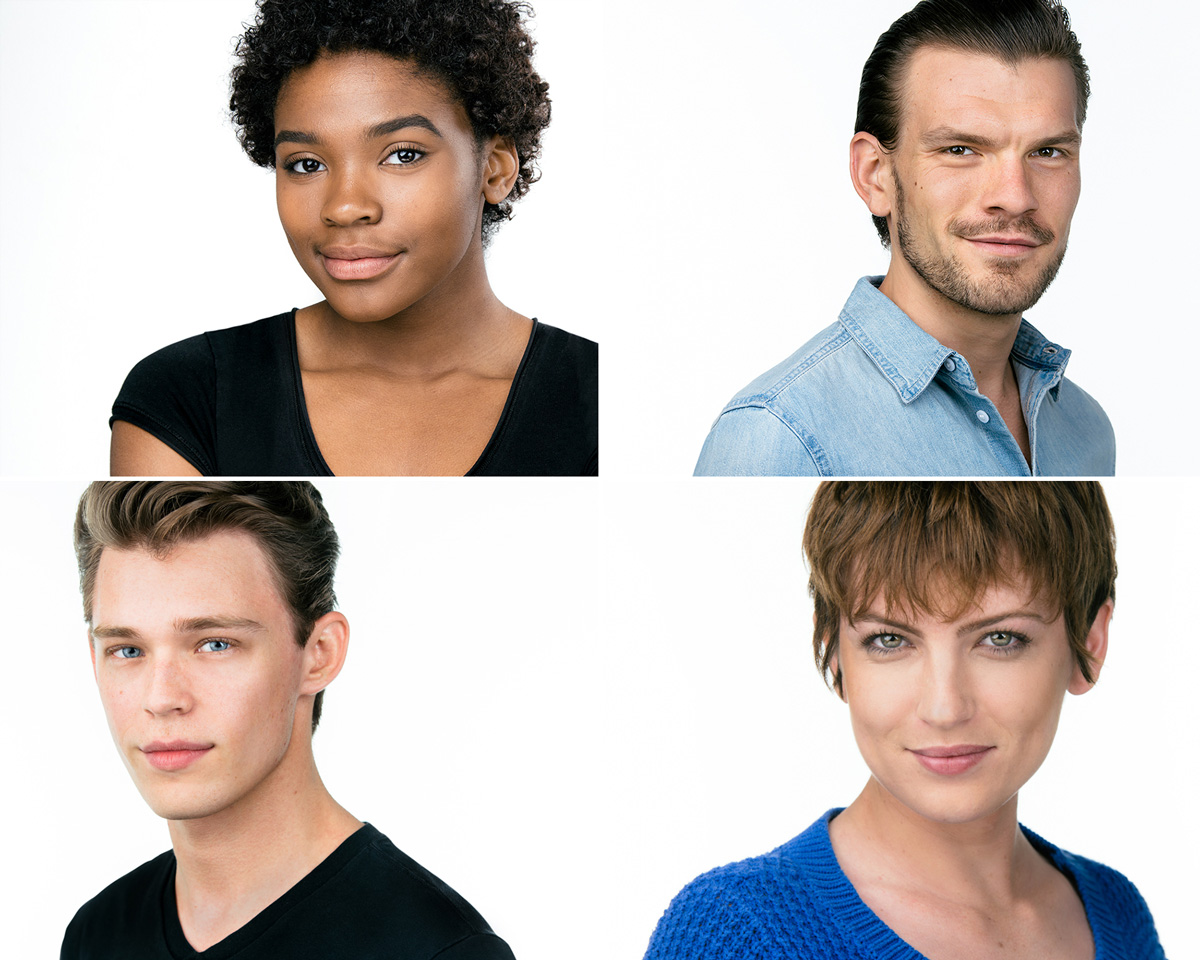 Actor Head Shot Examples by Jeff Walton