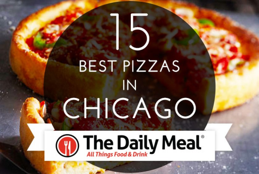 Besides classics like Gino's, Pizzeria Uno, Lou Malnati's, Burt's, and Pequod's, this list includes pizzas from Nellcôte, Falco's, Marie's, and Piece.
