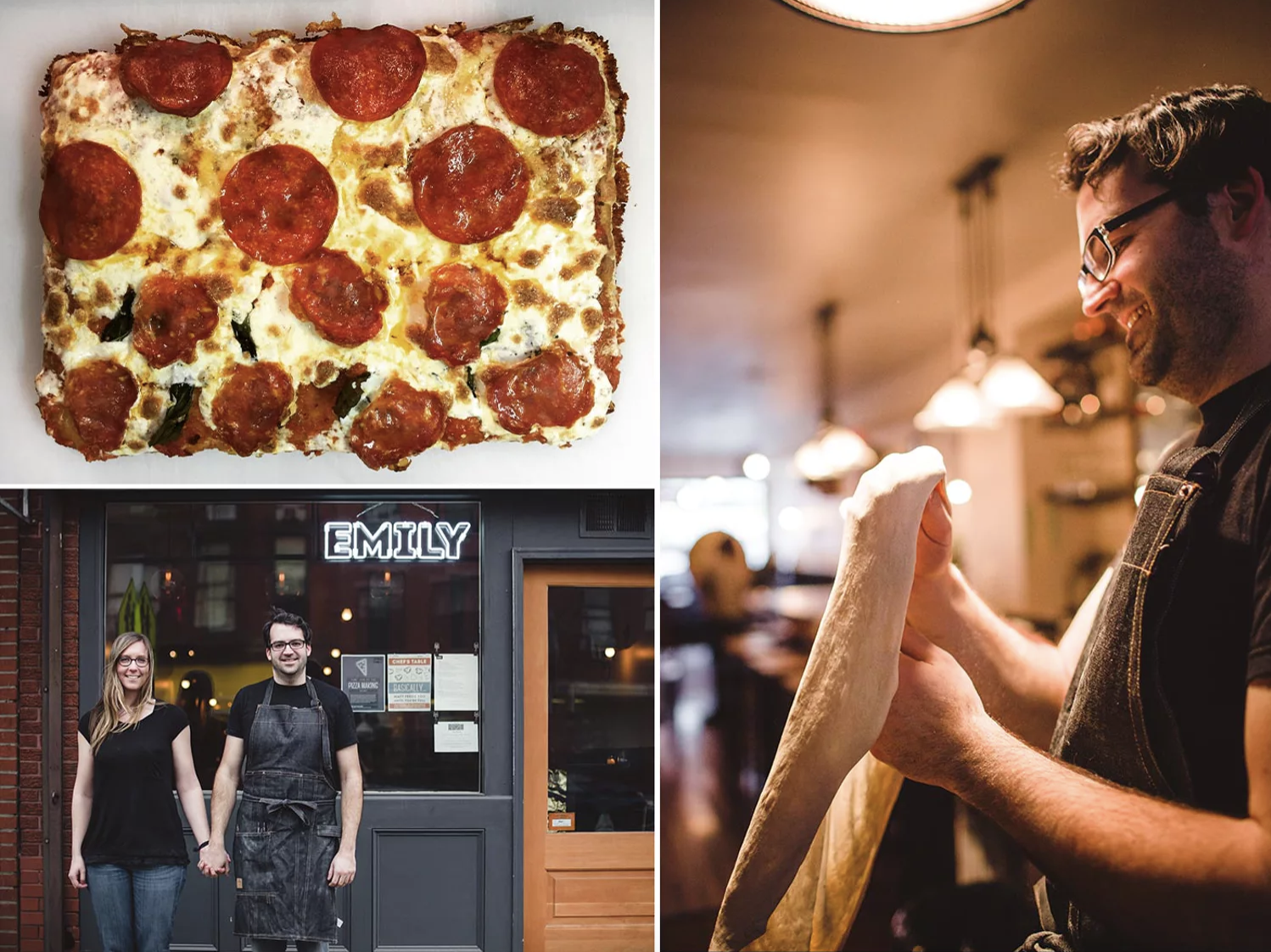 Roberta's and Emily Pizza will launch square pizza operations.