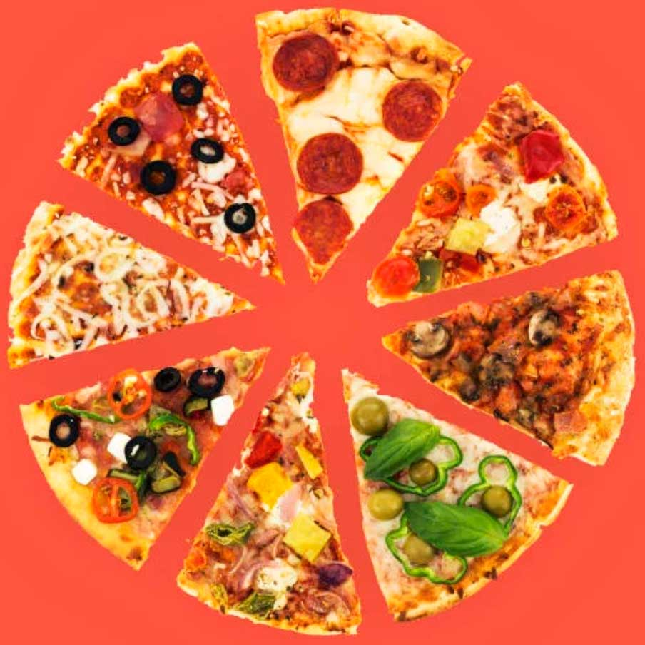 One man's quest to collect and freeze a slice from his favorite pizzerias across the country.
