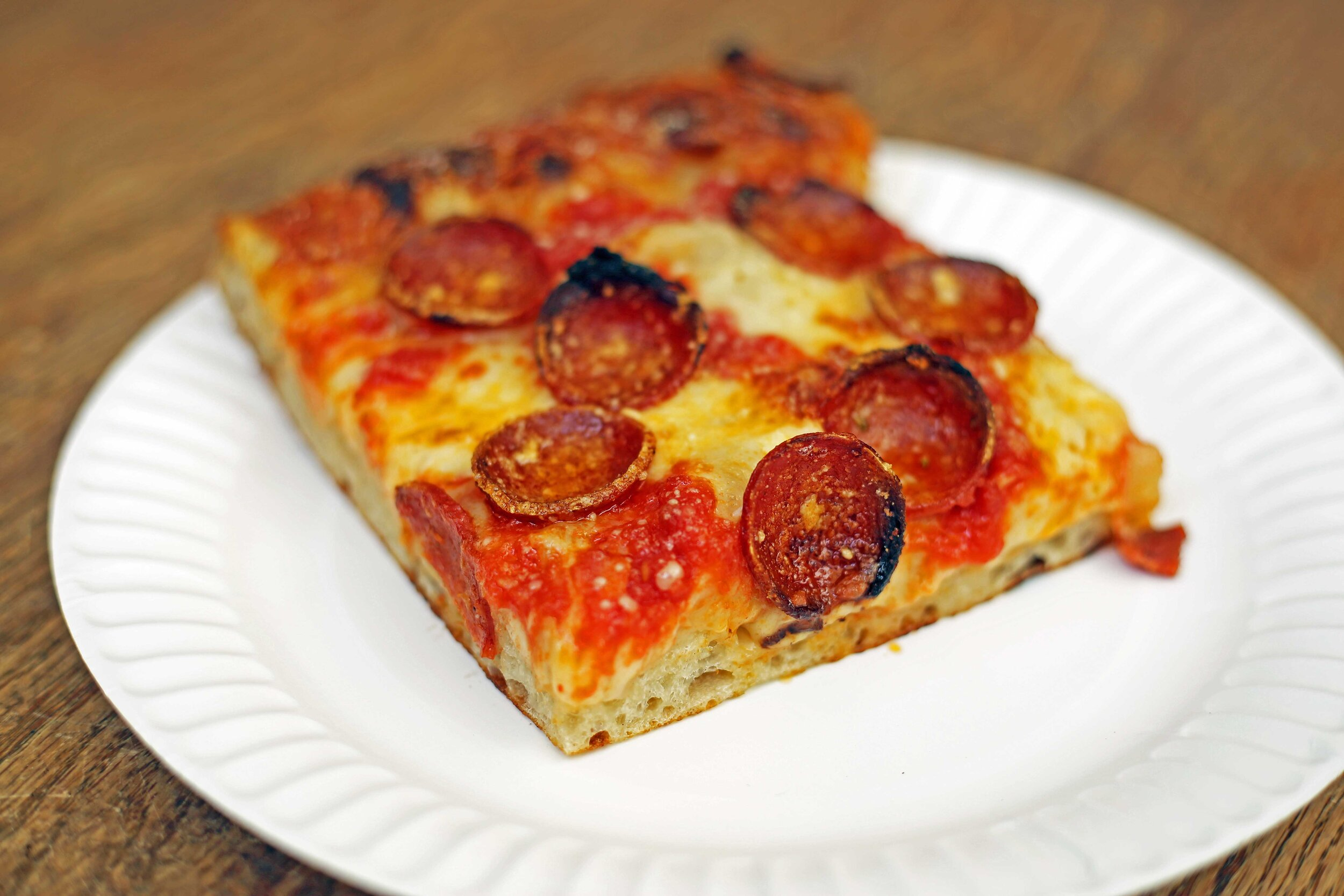 """F & F's squares are called """"Sicilians"""" but they're more like focaccia."""