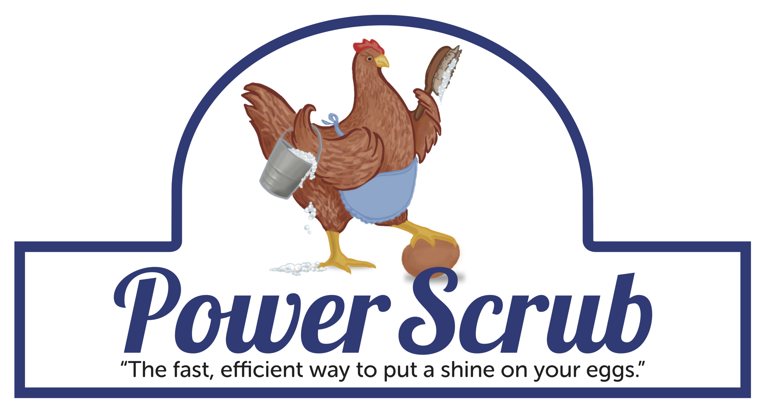 Power Scrub Commercial Egg Washer