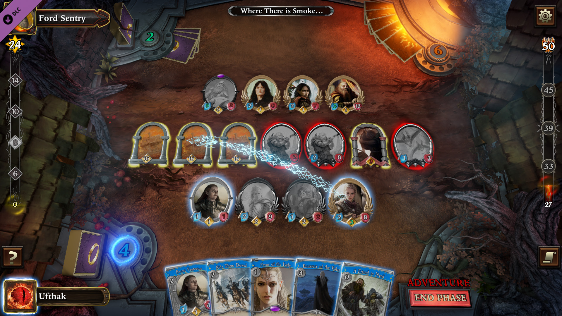 An in-game screenshot showing the use of identity frame and card back assets.