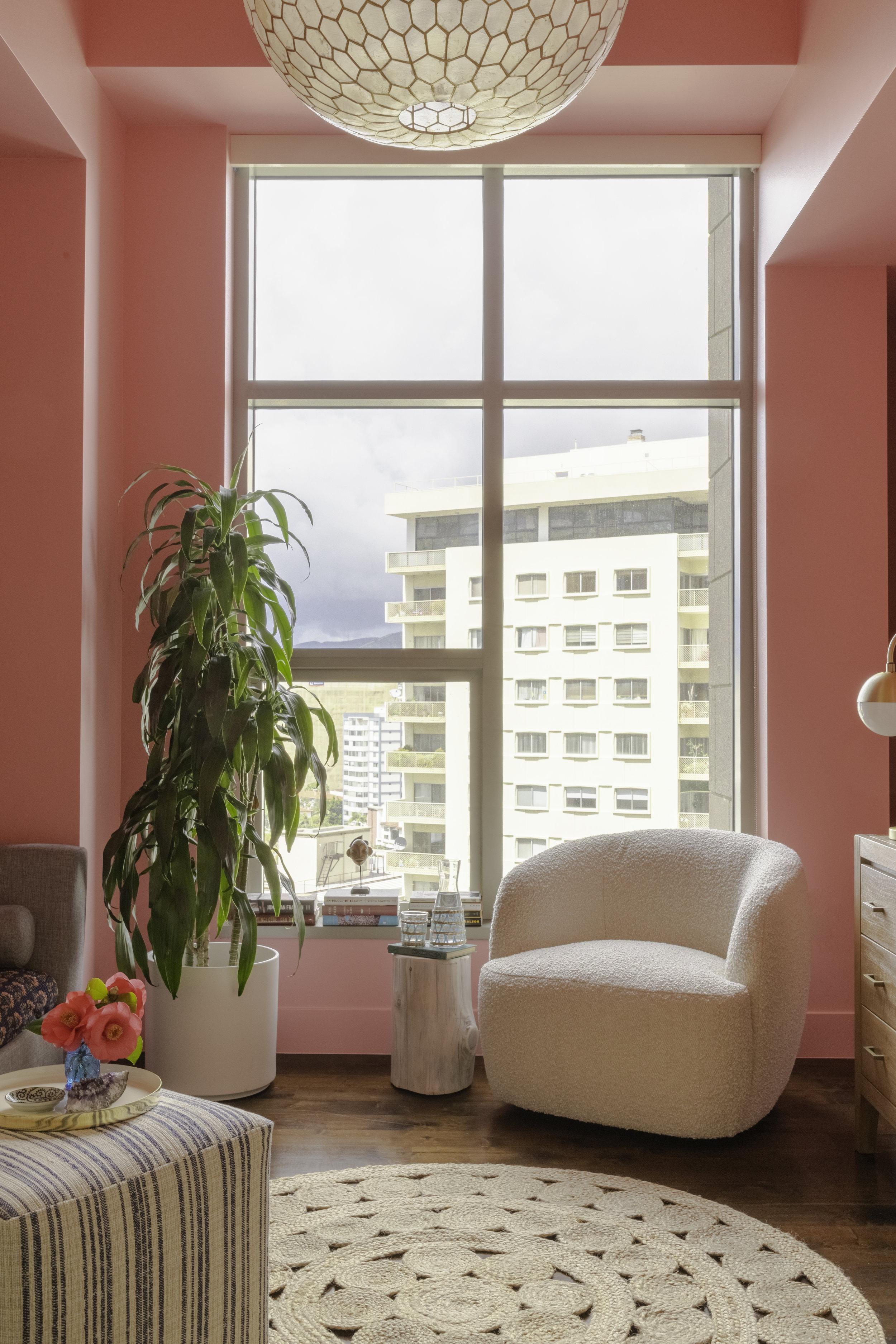 Pink Room - Wilshire Corridor