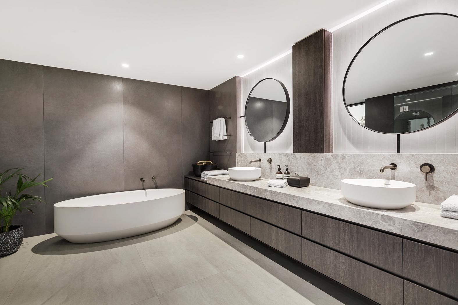 Melbourne Luxury Bathrooms Metrobuild
