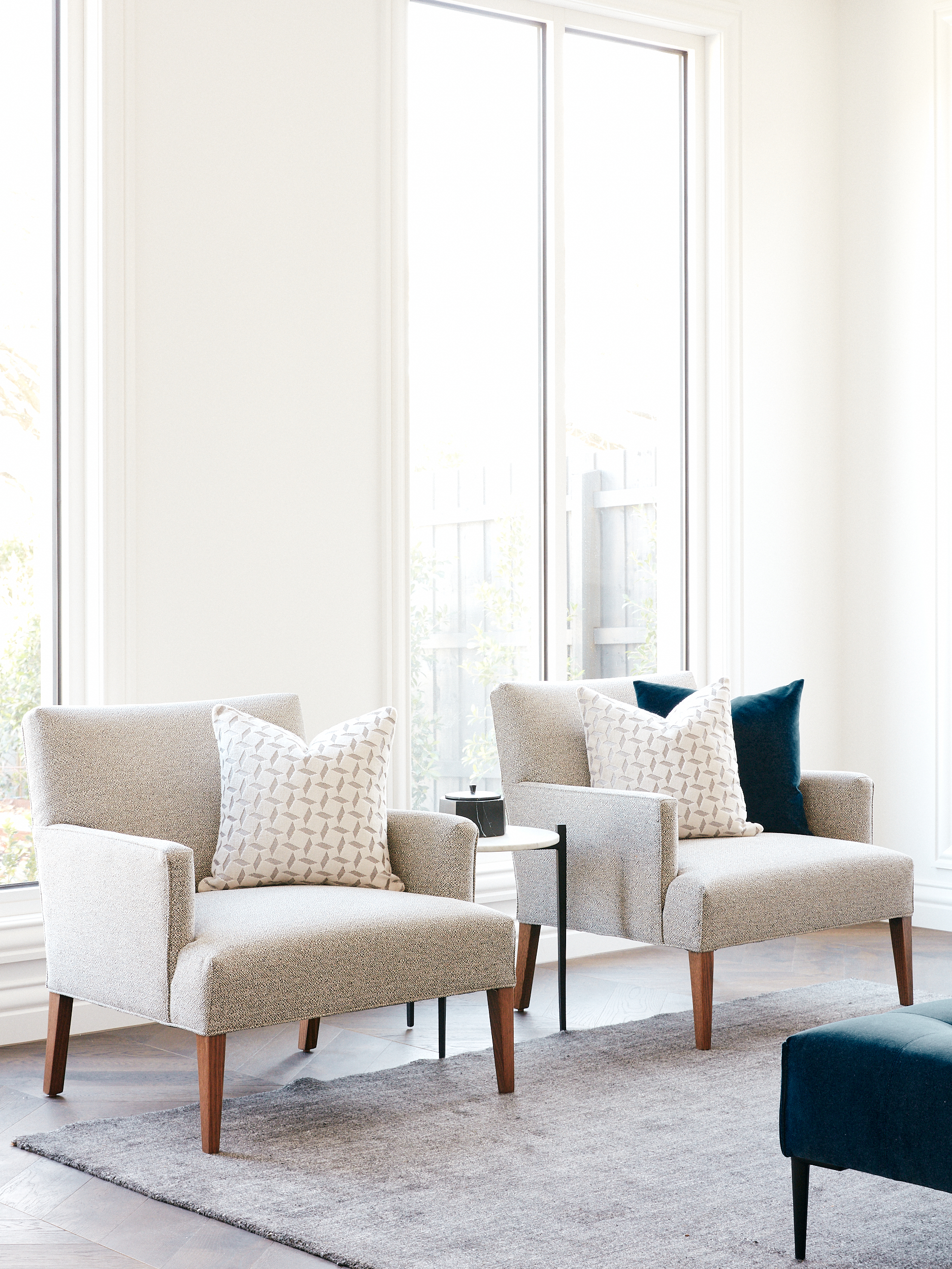 Arthur G Armchairs Courang Formal Living Property Styling