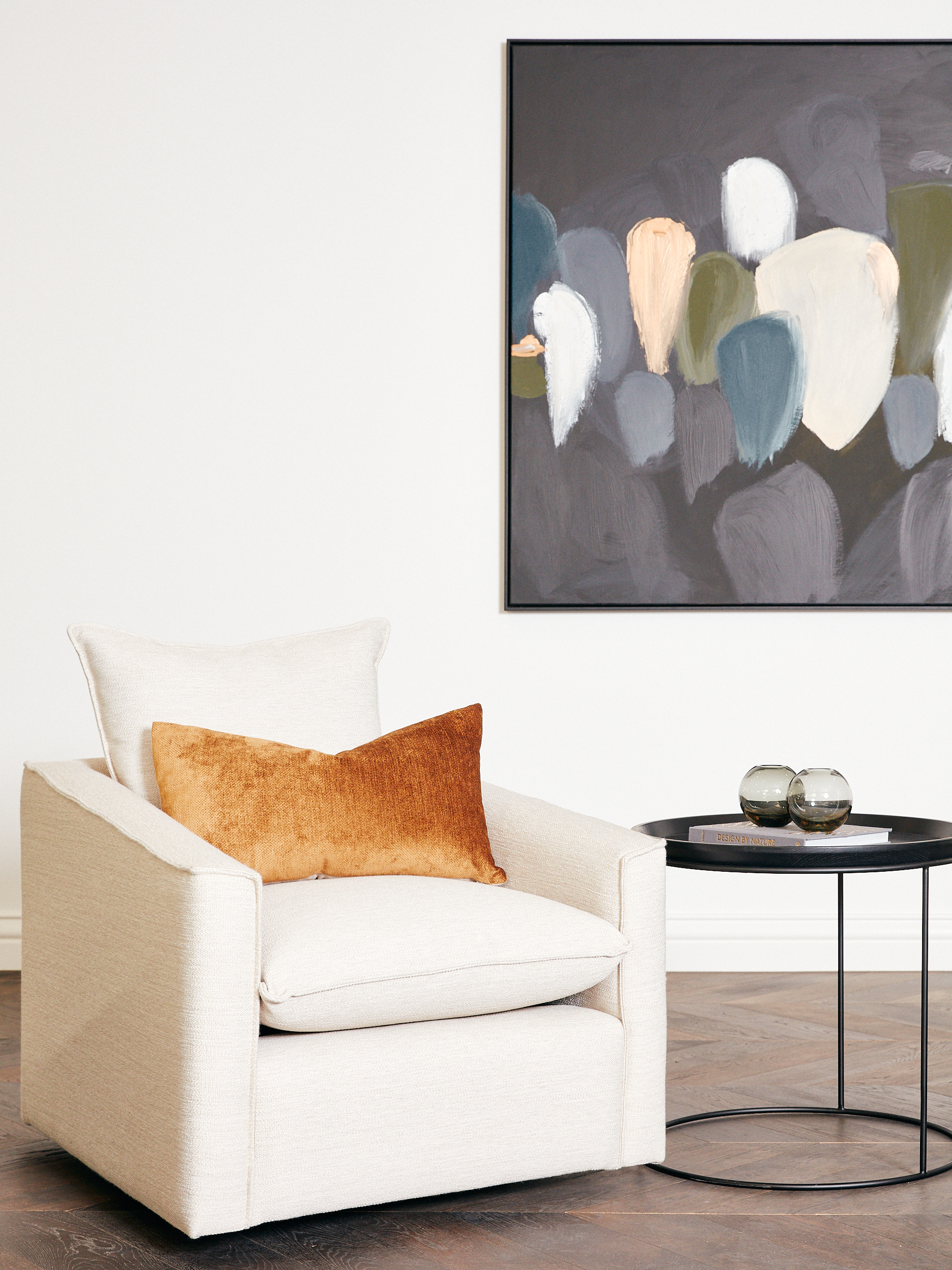 Arthur G Furniture Armchair Property Styling