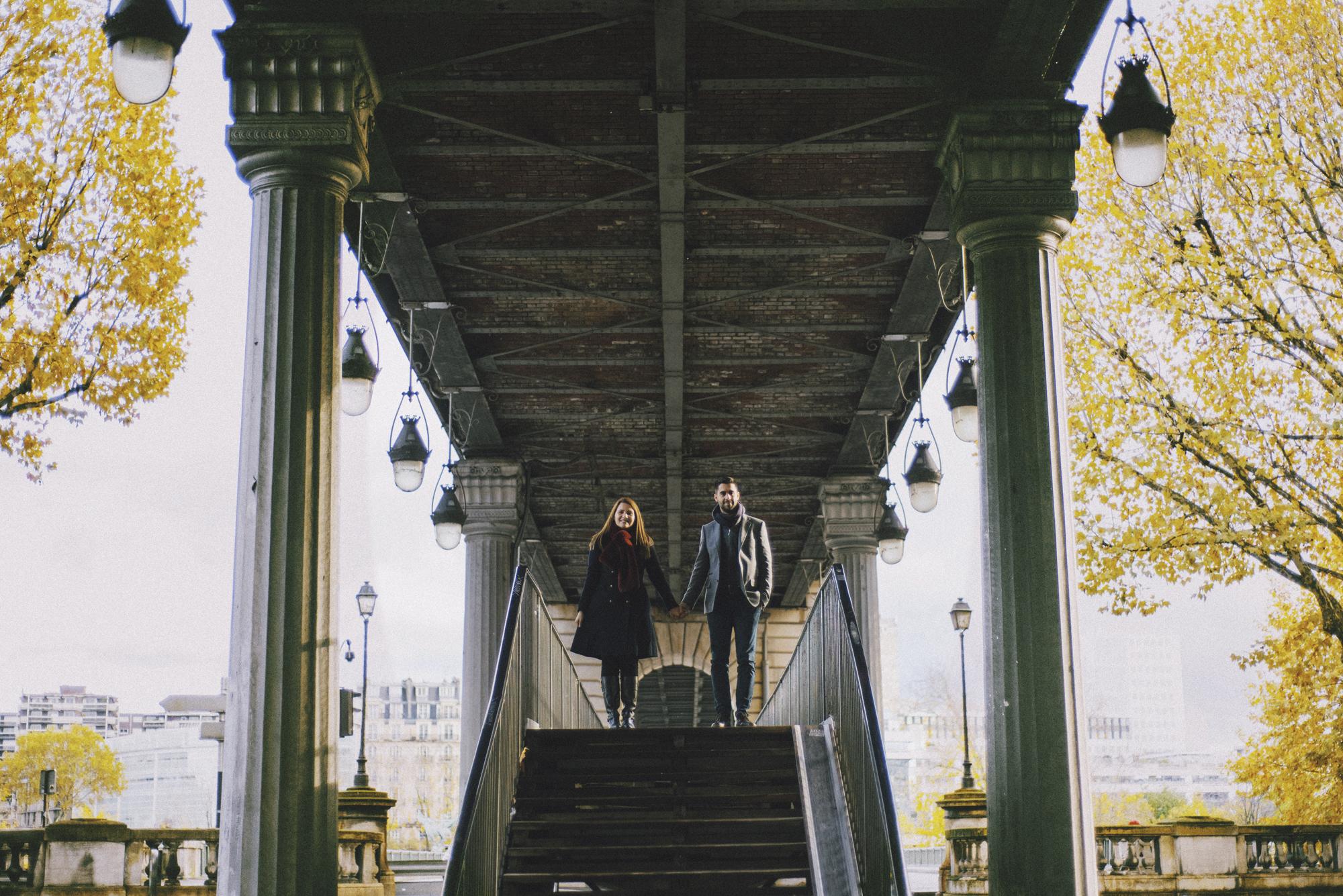 Foteini & Lefteris, couple session in Paris