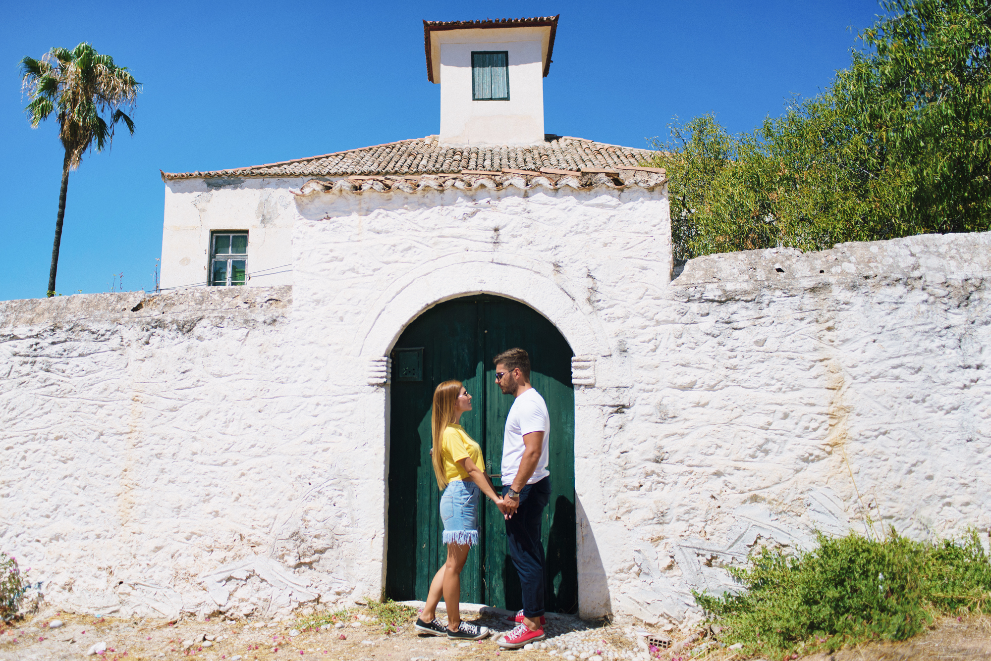Dimitra & Giorgos, couple session in Spetses