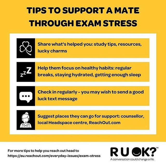 EXAM SEASON HAS ARRIVED 📚 Many of us may experience feelings of stress, anxiety, tiredness or just feeling overwhelmed in general during this time. It is EXTRA important during times like this that we take a moment out from our exam studies to support our friends and class mates. #ValidateMe #ExamTime #Support