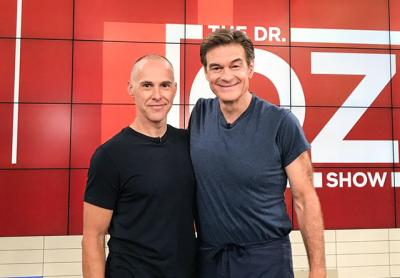 """Ari Weller was one of two """"pain-proofers"""" Dr. Oz had on his television show recently. The other was Dr. Anita Gupta, a pain specialist at Princeton."""