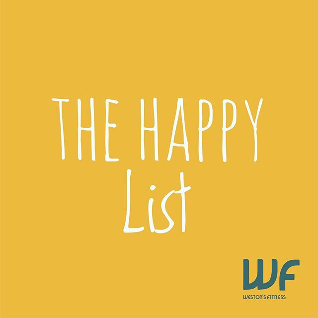 I've suggested this to a few clients and it's really had a positive impact on their lives.  Write a list of things in your life that make you happy.  For example; - Good people in your life - Exercise - Music  Write down whatever comes to mind and if there's something you'd like to add that will bring happiness to your life then add it to your list. Add & execute them - make it happen!!! On the other side of the page write down things that have the opposite effect.  For example; - Cutting out toxic/negative people - Eating junk food - Alcohol - Procrastination of any kind - Career / Work  Once you have your lists then you'll have a clearer understanding of what you need.  This works for me and for so many others, so give it a go and let me know the outcome.  #westonsfitness #energiefitnesskentishtown #hampsteadheath #fitnessjourney #runyourownrace #selflove