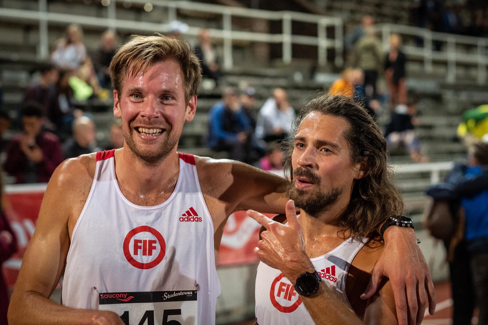 Henrik Engström och Christoffer Hiding