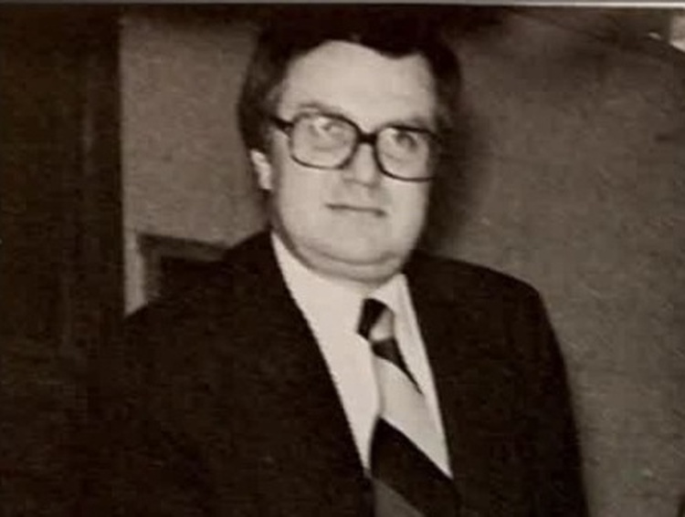 David Johnson in Nicolet yearbook