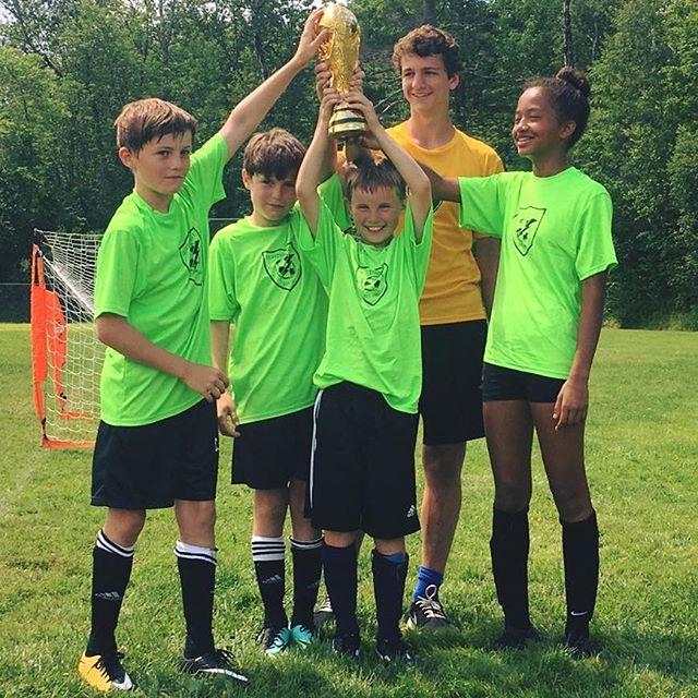 Last week's Thetford Street Soccer champs!#motivationmonday