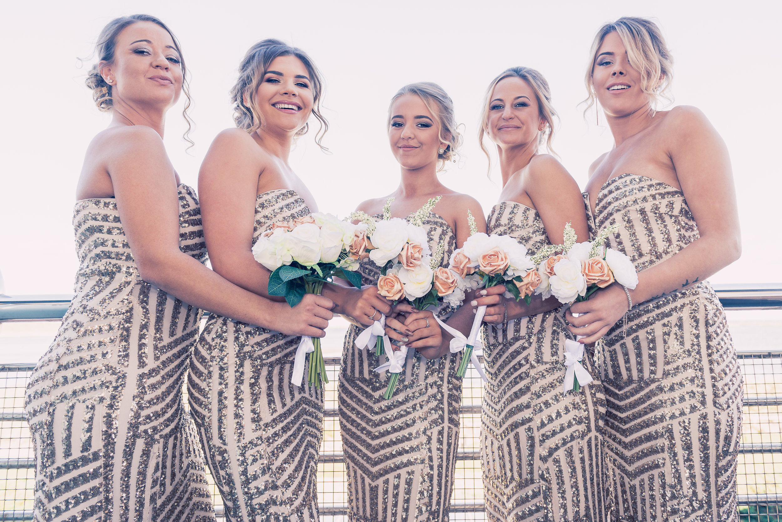 Bridesmaids.. every one a beauty..