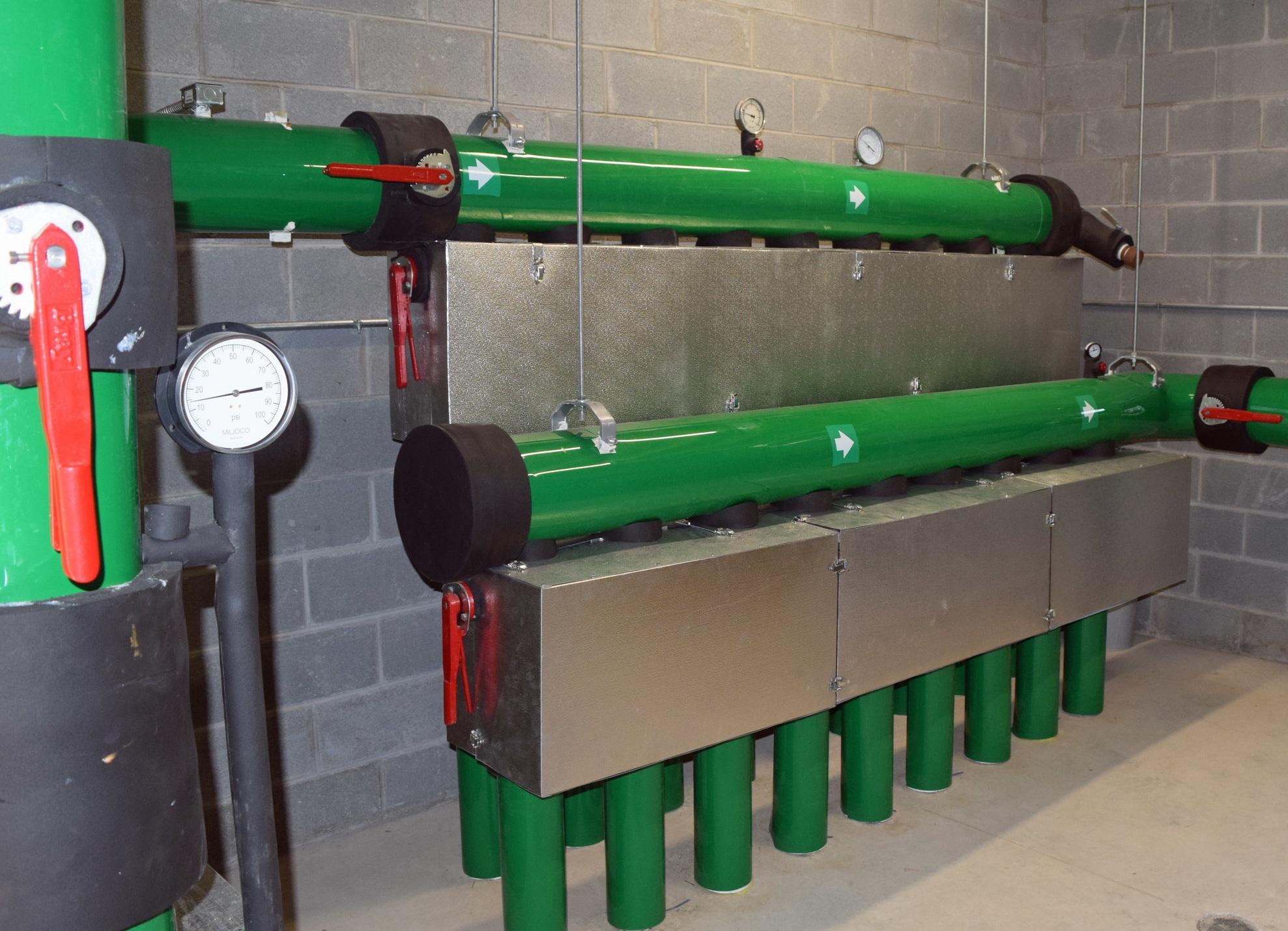 Key Details - Mechanical ProjectGeothermal ConversionConcealed Heat Pumps