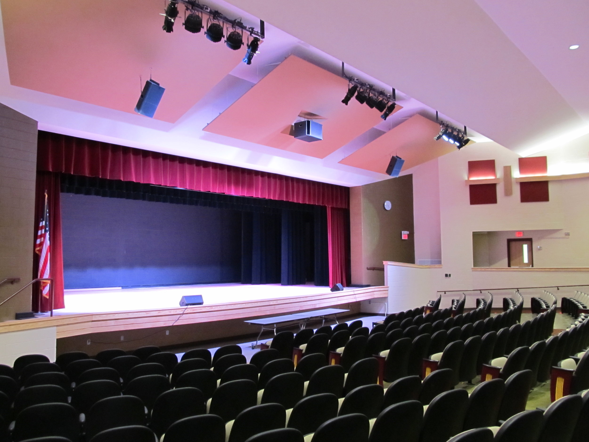 Key Details - Electrical ProjectSound System ReplacementAuditorium Lighting