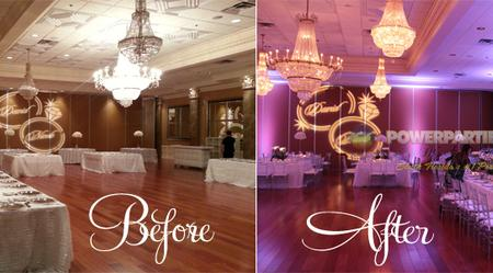 Make Your Event Magical! - Up-lighting creates an ambiance that can take an ordinary room and make it extraordinary.