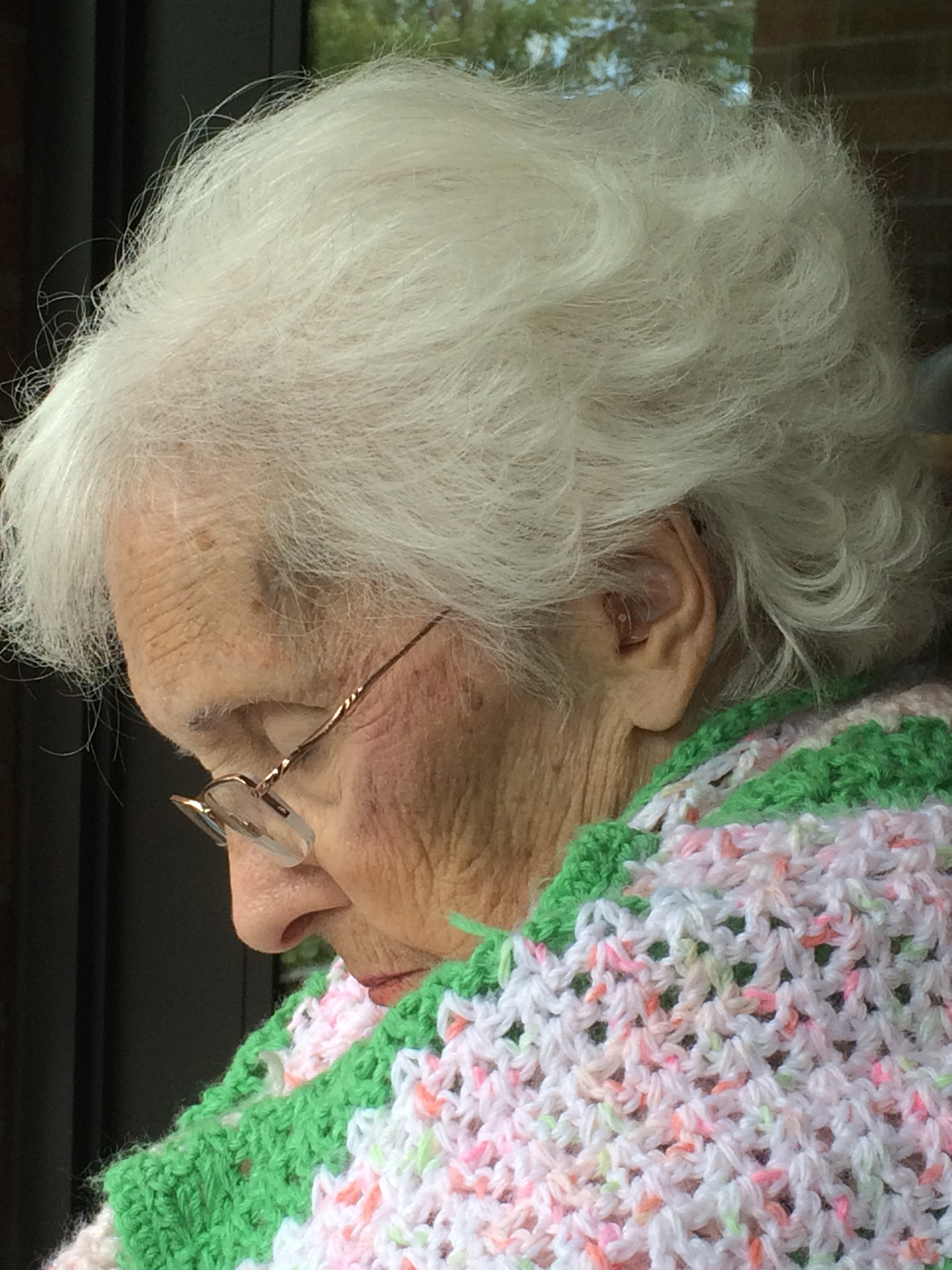 """Catching Tears"" - Today her tears ascended like the frozen snowflakes from the gray December sky. Emotions erupt with the Alzheimer's Disease journey… Read more"