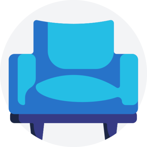 Premium Blue Chair