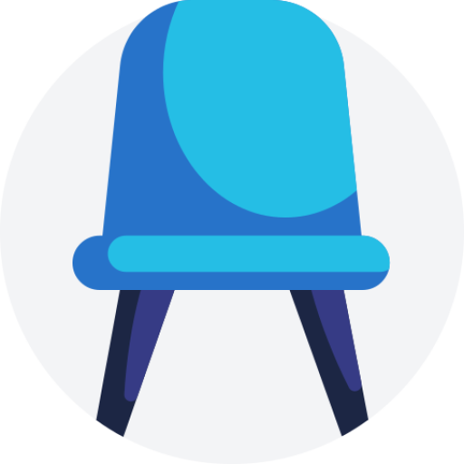 Standard Blue Chair