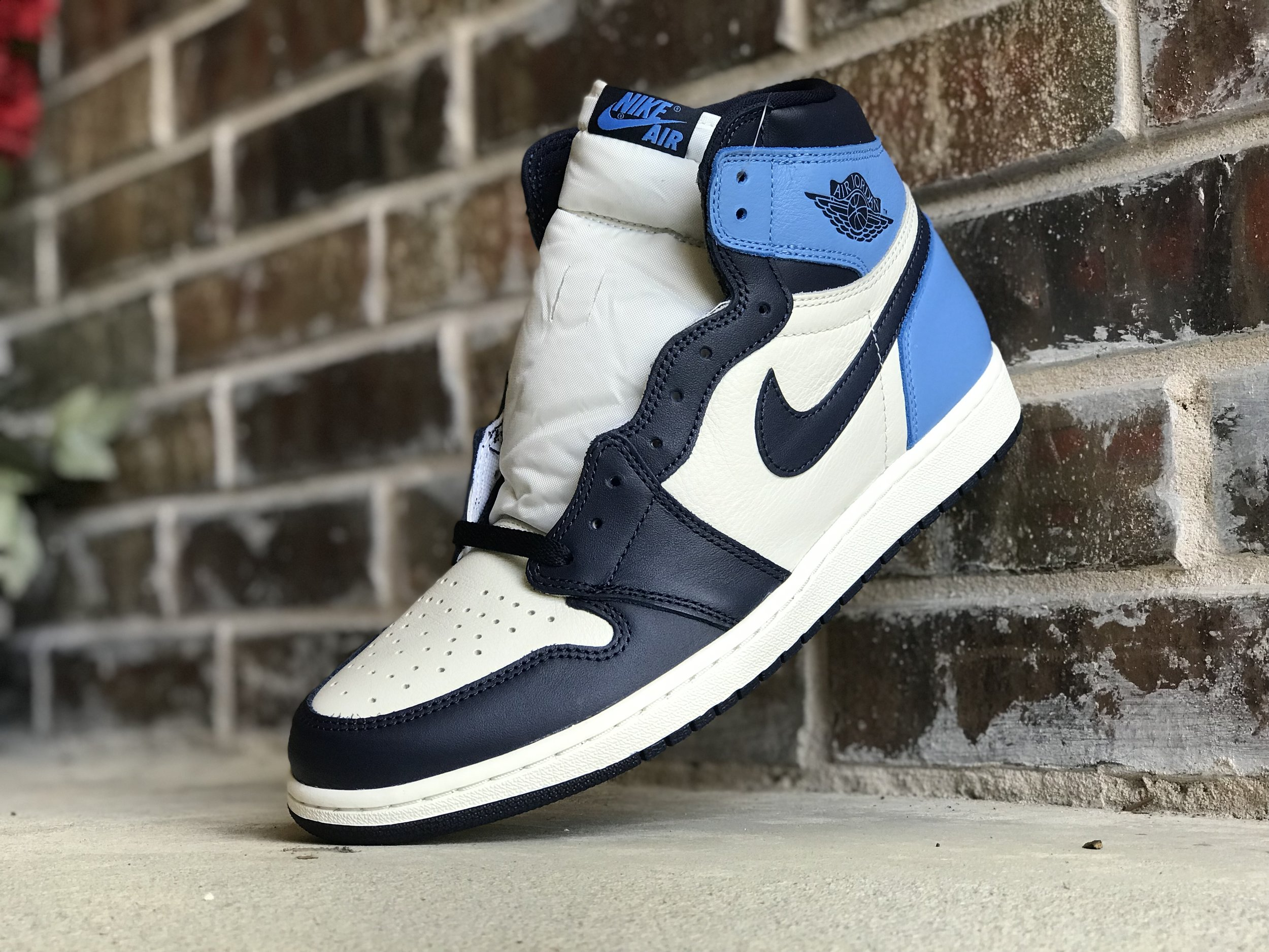 air jordan 1 high og obsidian