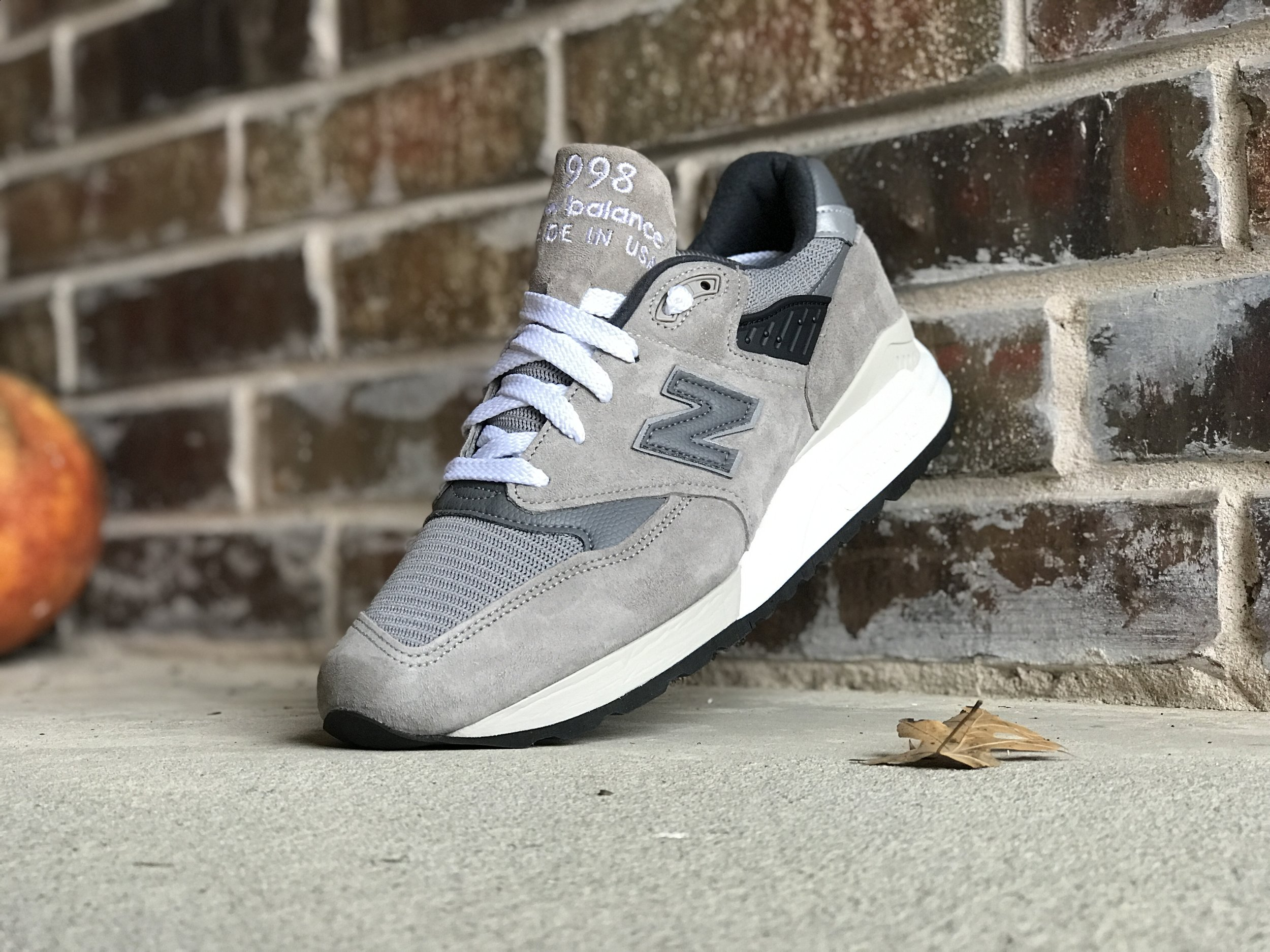new balance 998 grigio