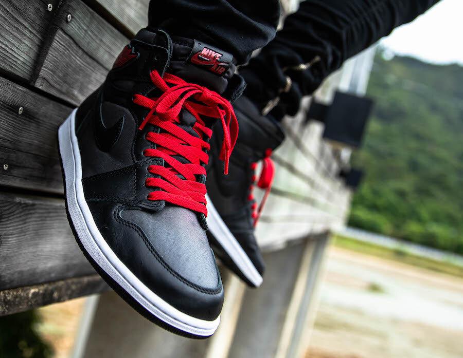 2020 Air Jordan 1 Retro High Og Black Satin Release Details